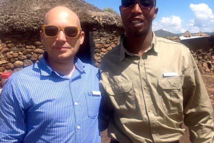 Emile and Sandile of Roof of Africa Tours